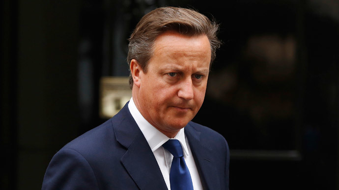 Cameron won't resign if Scotland votes for independence