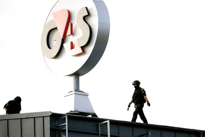 A 71 million pound G4S contract has roused widespread concern that the security firm will be complicit in degrading treatment at Guantánamo Bay. AFP Photo / Pontus Lundahl)
