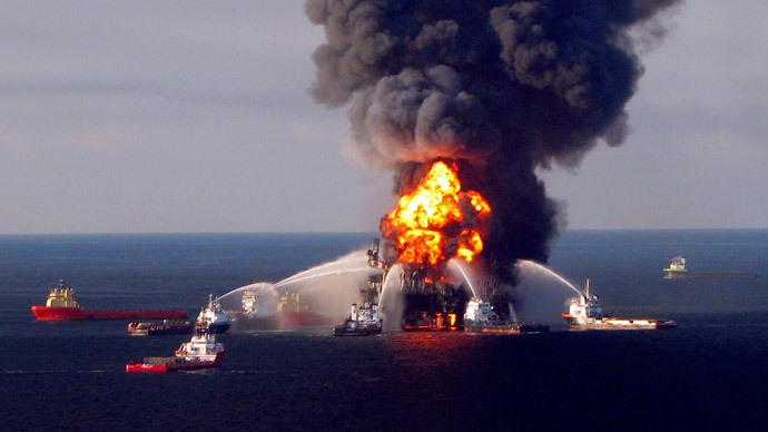 BP oil spill left Rhode Island-sized oily ring on seafloor