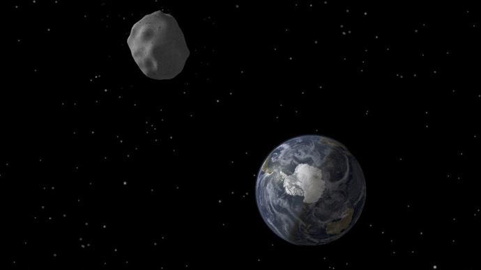 Tucson Moon Rock >> Way too close: 18-meter asteroid zips between Earth & moon — RT World News