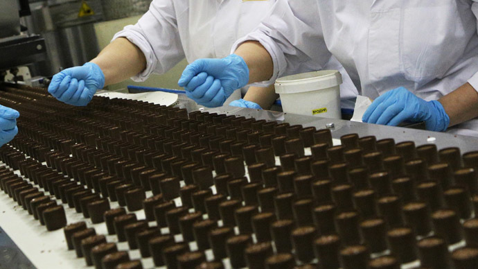 ​Russia suspends all confectionary imports from Ukraine