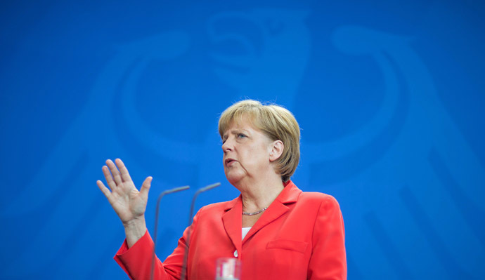 German Chancellor Angela Merkel (Reuters/Hannibal)