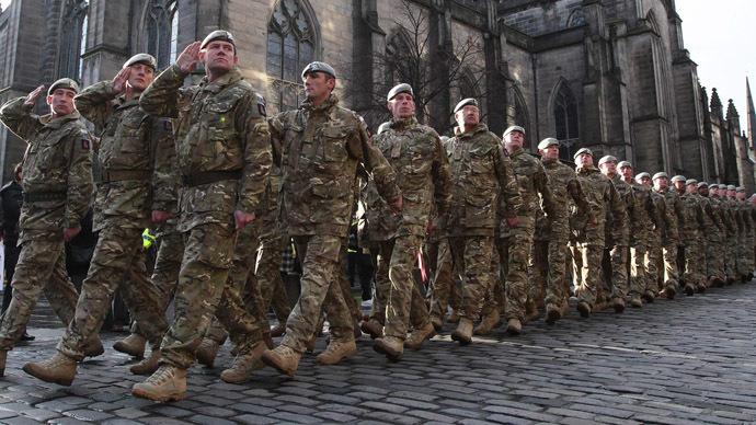 Britain warned austerity policies weakening army