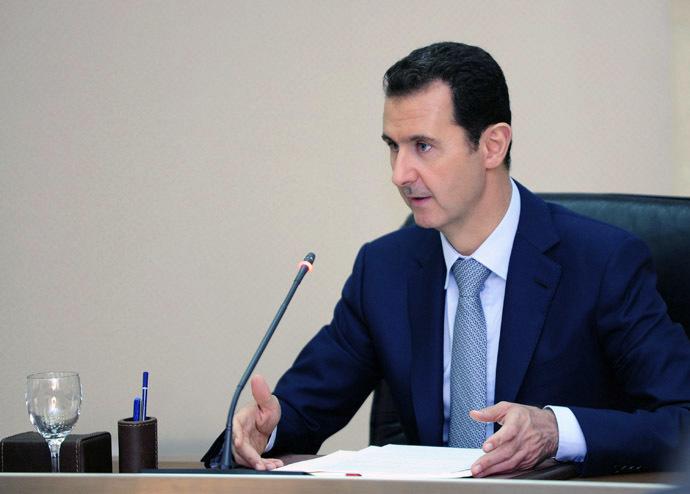 Syria's President Bashar Assad (Reuters/SANA)
