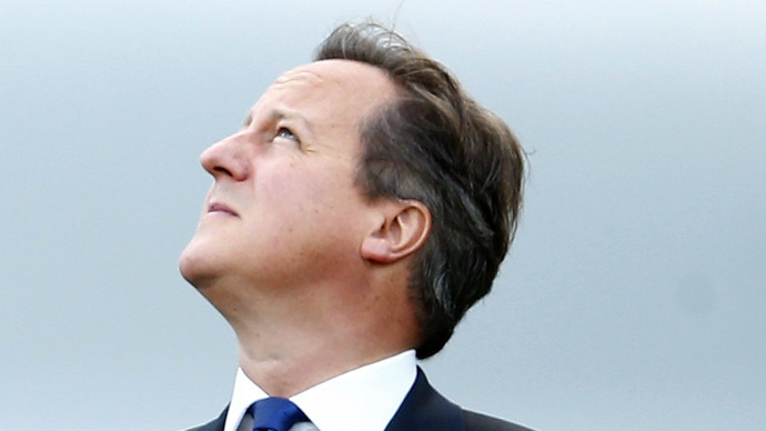 Britain's Prime Minister, David Cameron, at the Celtic Manor resort near Newport in Wales September 5, 2014. (Reuters)