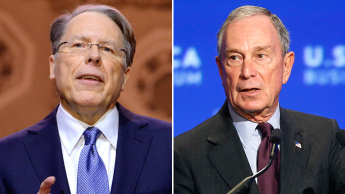 NRA goes head-to-head against billionaire Bloomberg's anti-gun campaign