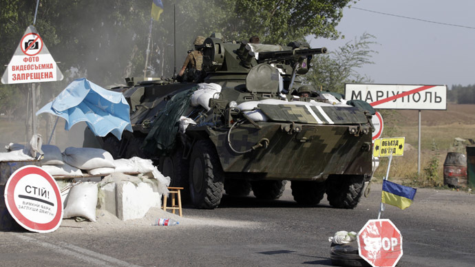 Heavy fighting outside Mariupol despite launch of Ukrainian peace talks