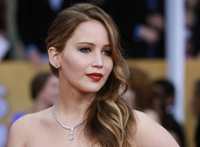Actress Jennifer Lawrence (Reuters)