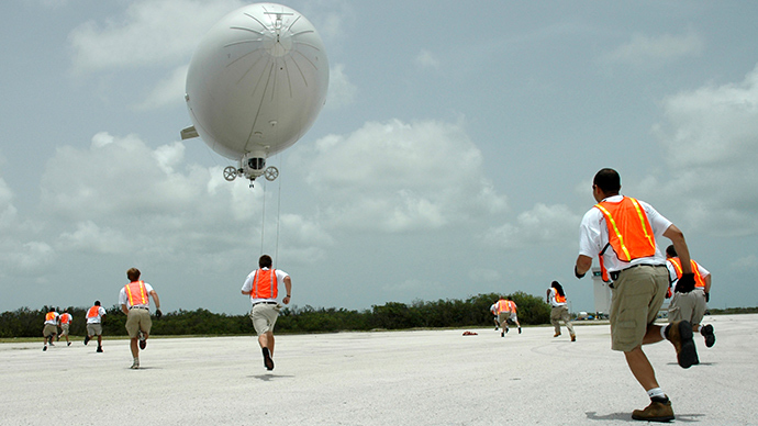 Army refuses to open up on capabilities of surveillance blimps over Maryland