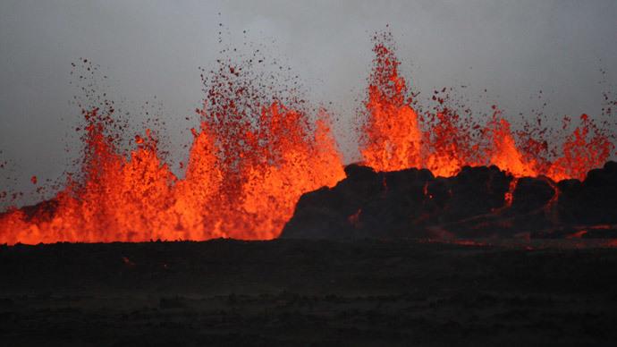 Volcano erupts in central Japan, dozens injured (VIDEO, PHOTOS)