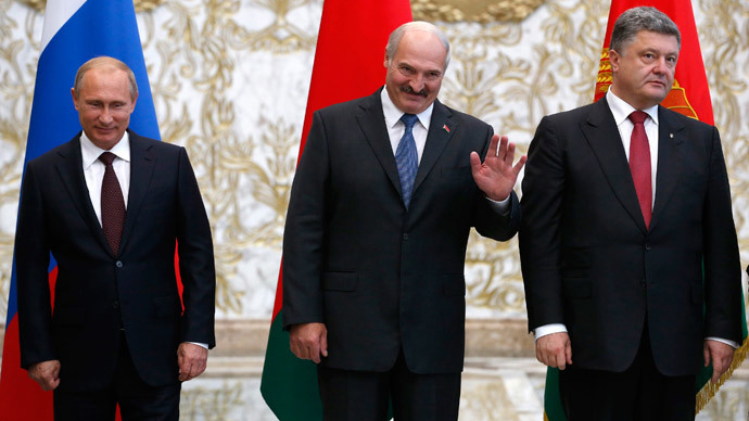 Moscow and Kiev have same approach to resolving Ukraine crisis - Lukashenko