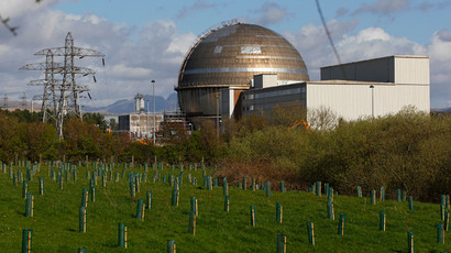 ​Radioactive leak as fire strikes Scottish nuclear plant