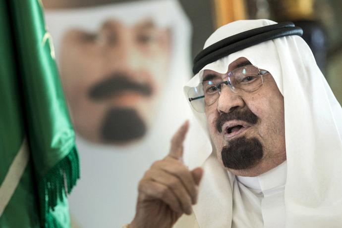 Saudi King Abdullah bin Abdulaziz al-Saud (AFP Photo/Brendan Smialowski)