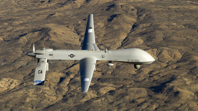 A U.S. Air Force MQ-1 Predator unmanned aerial vehicle (Reuters/U.S. Air Force/Tech. Sgt. Effrain Lopez)