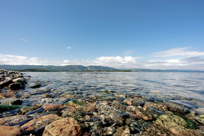 Views on Lake Baikal. (RIA Novosti/Anton Denisov)