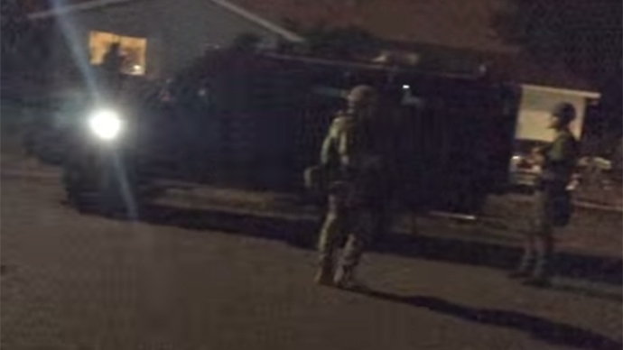 Oregonian arrested for filming SWAT raid (VIDEO)