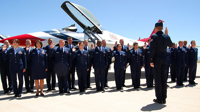 US Air Force to Atheist: Say 'God' in oath or don't re-enlist