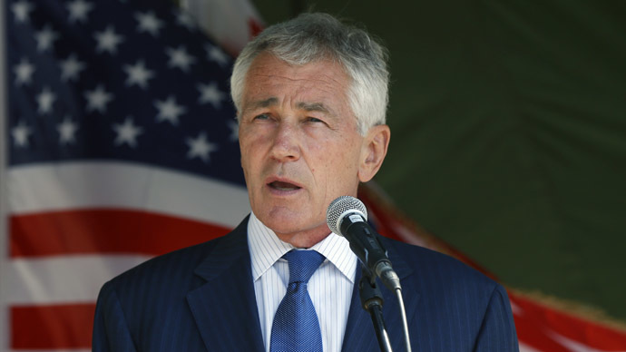 ​Hagel 'not aware' of secret deal to supply Kiev with lethal weapons