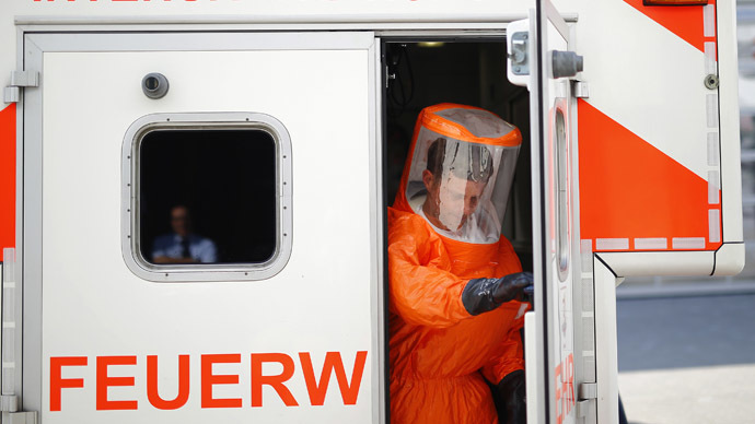 Ebola scare as US air marshal attacked with syringe in Lagos Airport