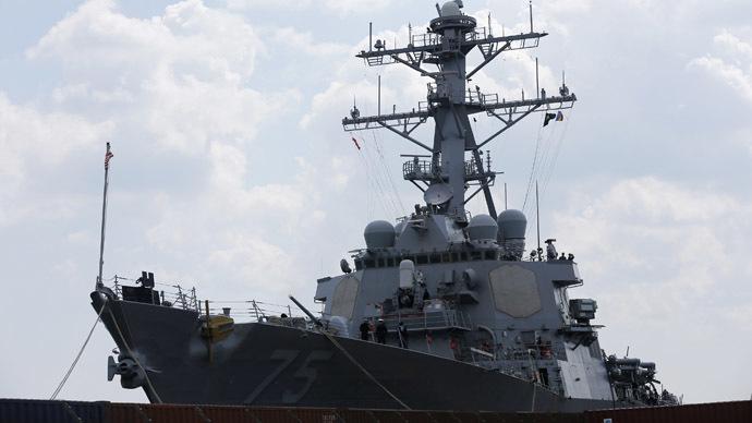 Russian coastal defenses in Crimea stage target practice amid NATO drills in Black Sea (VIDEO)