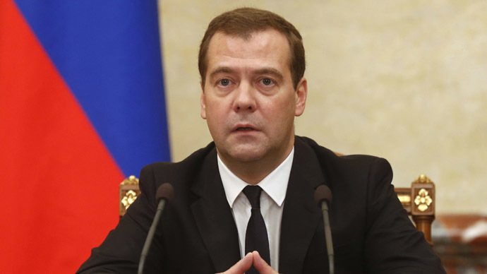 Russia to protect sanctioned companies - Medvedev