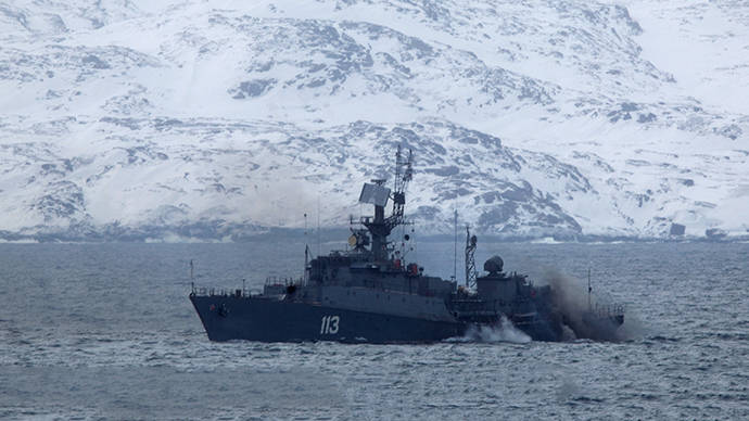 Northern defense: RT's on-the-spot report from Russian naval maneuvers in the Arctic