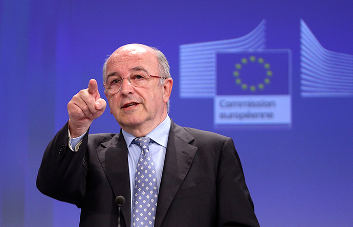 European Union Competition Commissioner Joaquin Almunia (Reuters / Francois Lenoir)