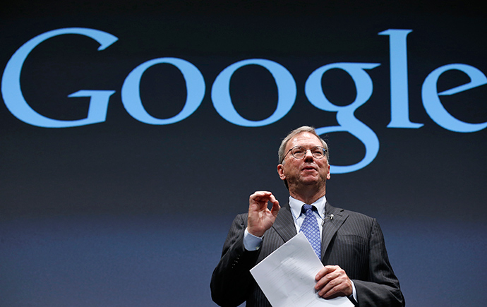 Google Executive Chairman Eric Schmidt (Reuters / Kim Kyung-Hoon)