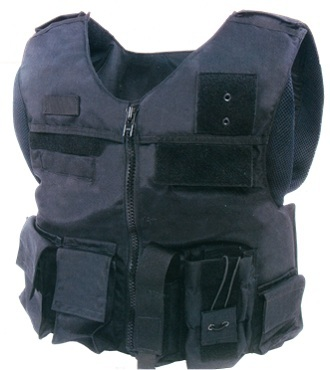 Front Opening Tactical Assault Vest (Image by Shield Defense Systems)