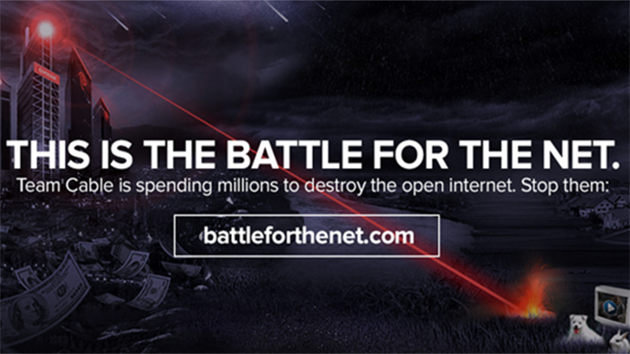 Internet Slowdown Day: Leading web companies fight for 'net neutrality'
