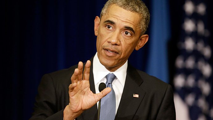 Obama claims 'enough authority' to act against Islamic State