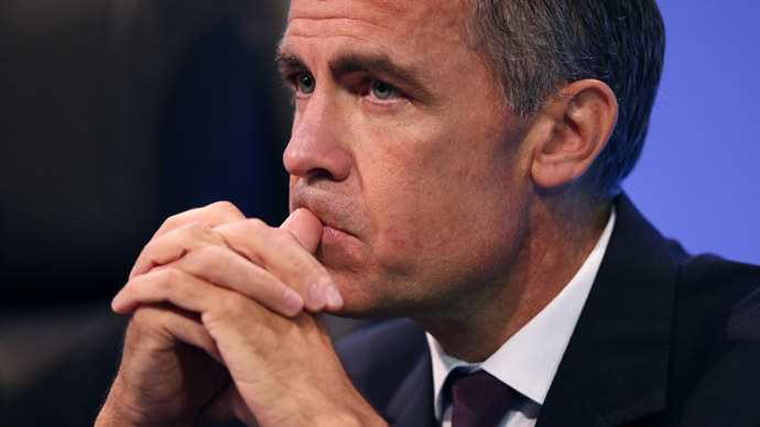 Bank of England Governor Mark Carney waits to deliver his keynote speech at the annual Trades Union Congress (TUC), in Liverpool, northern England September 9, 2014. (Reuters/Phil Noble)