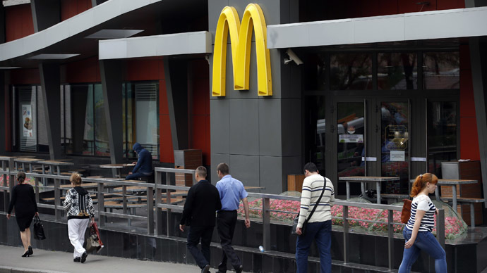 ​McDonald's suffers worst monthly decline in more than a decade