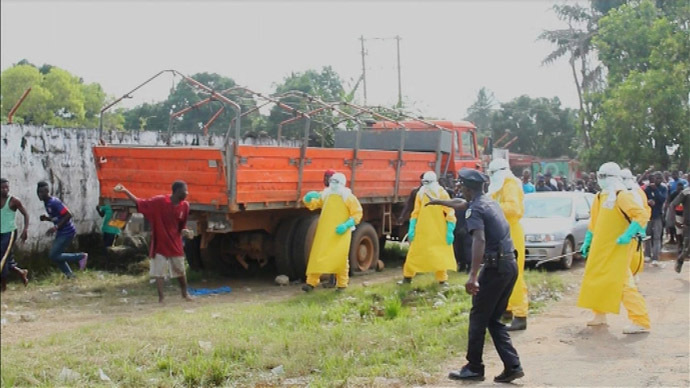 Ebola threatens Liberia's existence - minister