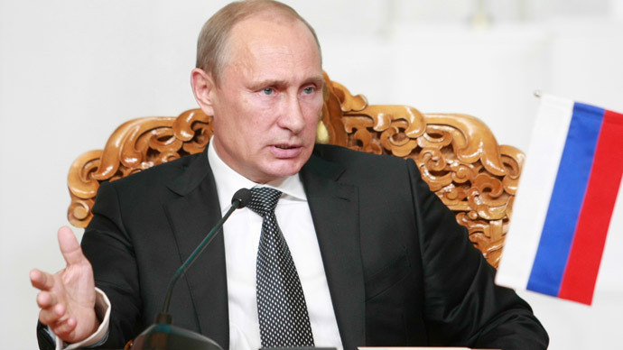 Putin: Russia will not get involved in arms race