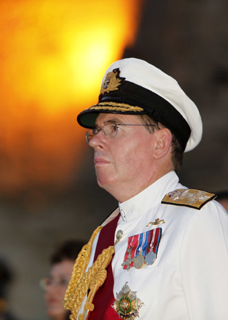 Britain's First Sea Lord and Chief of Naval Staff, Admiral Sir Mark Stanhope. (Reuters/Darrin Zammit)