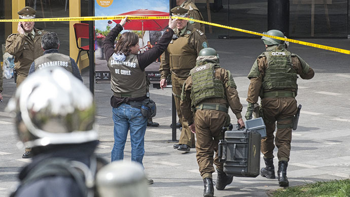 Chile on high alert after 3 explosions in 3 days