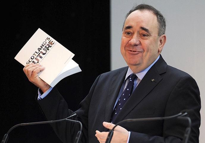 Scotland's First Minister Alex Salmond (AFP Photo / Andy Buchanan)