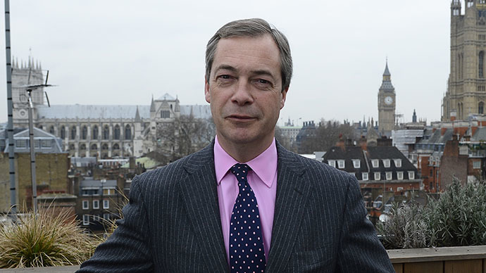 UK Independence Party leader Nigel Farage (Reuters / Paul Hackett)
