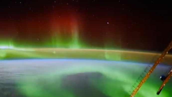 An image grab taken from a video uploaded on YouTube by European Space Agency, ESA