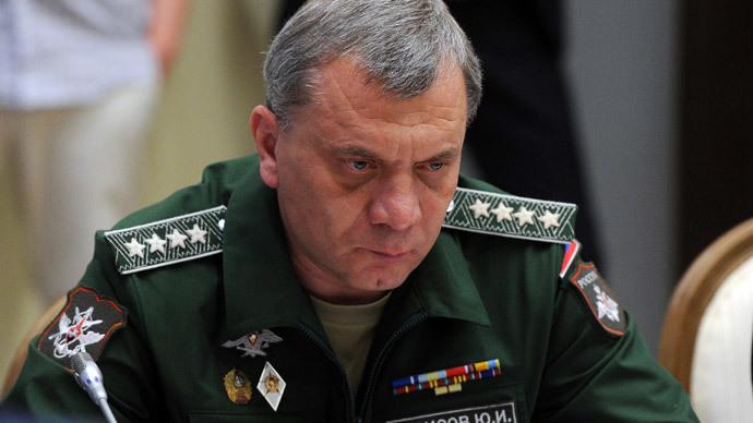 Russian Deputy Defense Minister Yury Borisov.(RIA Novosti / Michael Klimentyev)