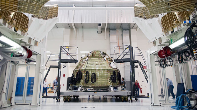 'Stepping into the solar system': NASA prepares Orion human spacecraft for liftoff