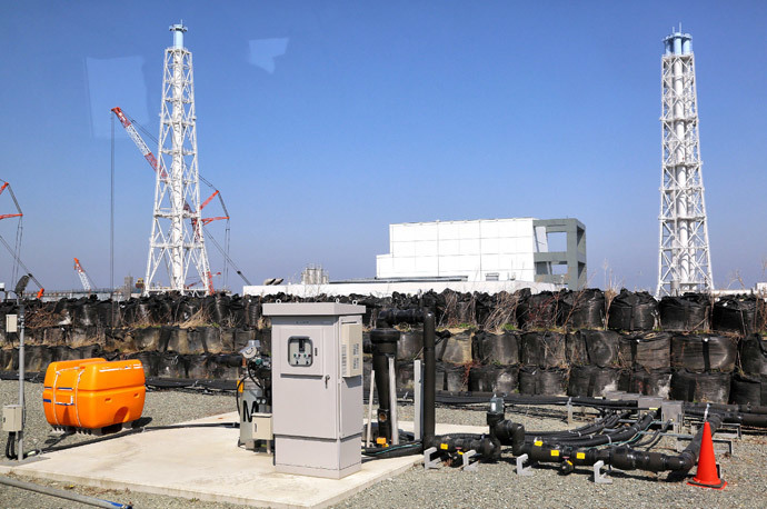 Tokyo Electric Power CO (TEPCO) Fukushima Dai-ichi nuclear power plant at Okuma town in Fukushima prefecture.(AFP Photo)