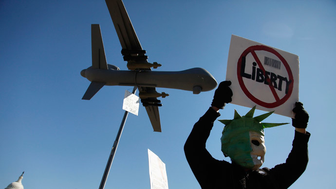Women face charges for anti-drone protest near NSA facility