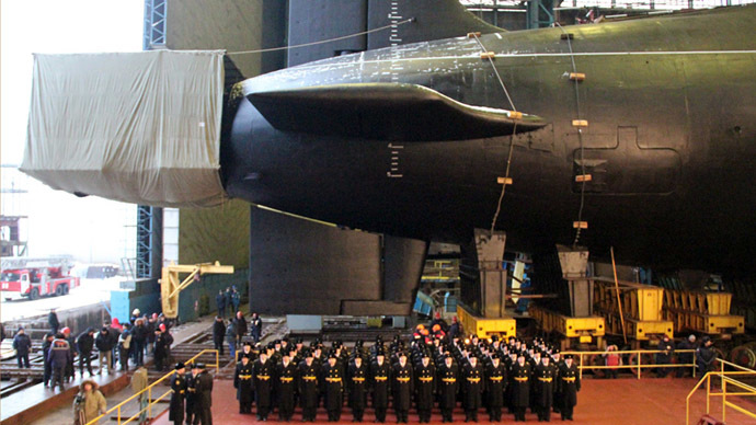 Russia's newest Borei-class nuclear sub completes sea trials