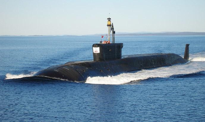 "Nuclear submarine (NS) ""Yuri Dolgoruky"" (RIA Novosti/press-service of JSC ""PO ""Sevmas)"