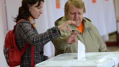 Russia holds record-breaking elections across the country