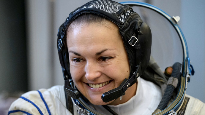 russian female astronaut in space - photo #10
