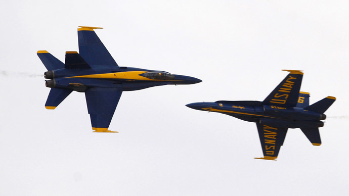 Two US Navy jets crash in W. Pacific: 1 pilot injured, 1 missing