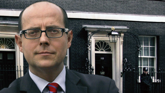 BBC Political Editor Nick Robinson (Photo from Twitter/@bbcnickrobinson)